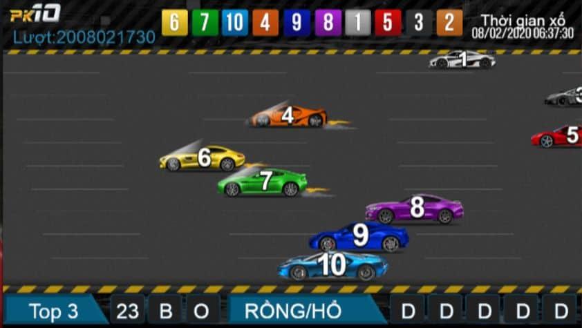 แนะนำการแข่งรถเพื่อเล่นหวย PK10 W88 บนโทรศัพท์