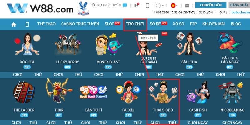คู่มือการเล่น Sicbo สุดฮอตของไทยที่เจ้ามือรับแทง W88