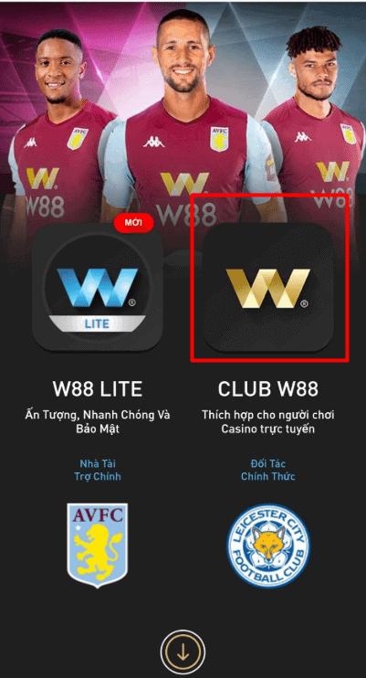 ดาวน์โหลดแอพพลิเคชั่น Club W88 เพื่อเล่นคาสิโนออนไลน์บนมือถือ