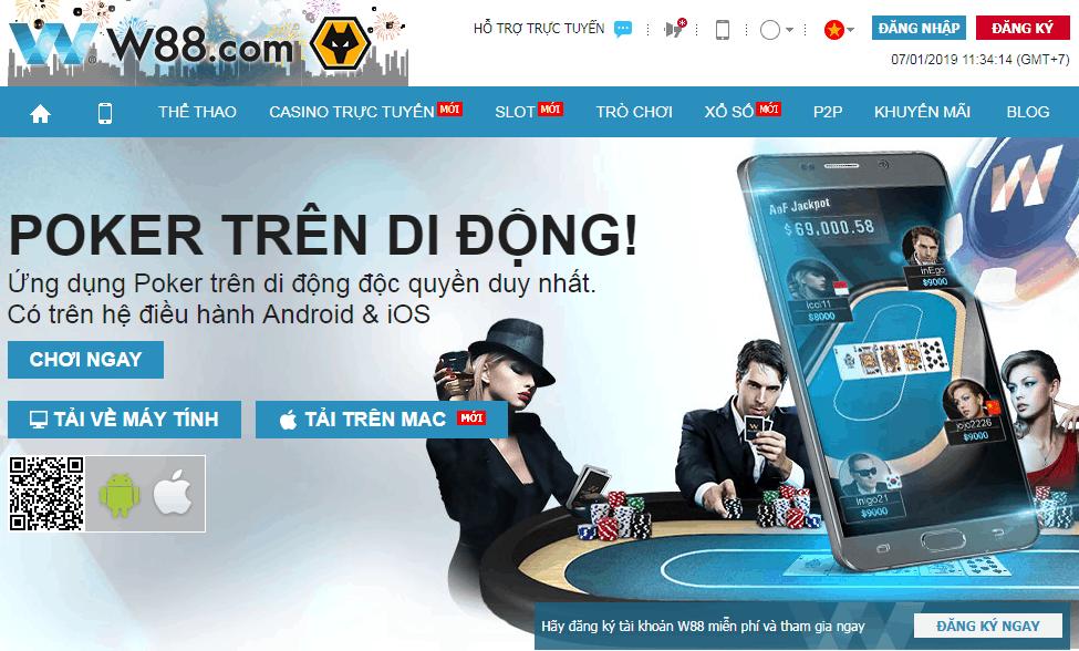 W88 Poker คืออะไร?  มีอะไรพิเศษเกี่ยวกับ W88 Poker จากเจ้ามือรับแทงชั้นนำของเอเชีย?