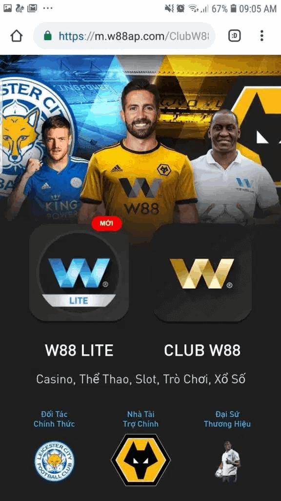 วิธีดาวน์โหลด App W88 Lite บนโทรศัพท์ Android & iSO แบบง่ายๆ