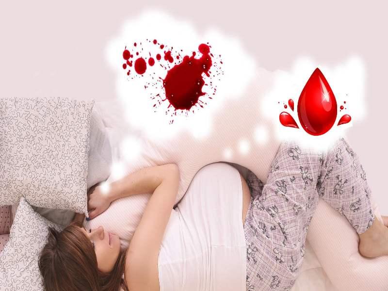 Nằm mơ thấy MÁU đánh con gì đây? Giải mã tất cả mơ về máu