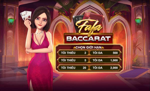 FaFa Baccarat W88 - เกมใหม่ที่น่าสนใจที่ w88